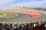 Tribune H, GP Barcelone<br />Circuit de Catalogne Montmelo<br />Grand Prix de Catalogne motos